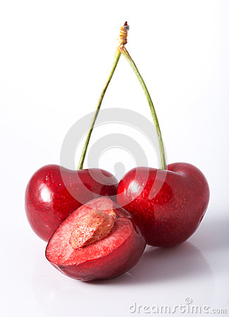 Cherry with seed