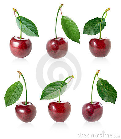 Free Cherry Set. Royalty Free Stock Photography - 14429917