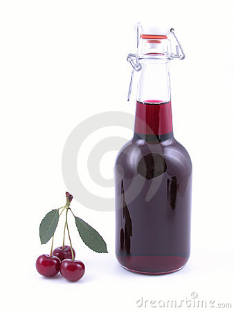 Cherry Syrup Stock Photos - Image: 1070273