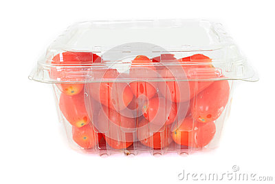 Cherry tomatoes container