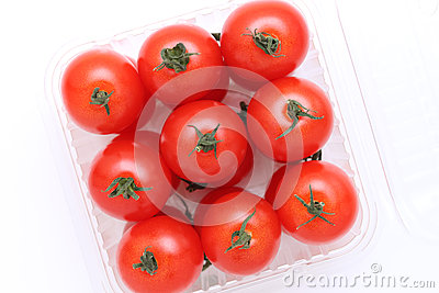 Cherry tomatoes in