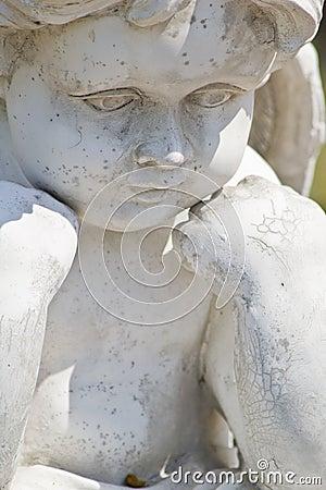Free Cherub Statue Stock Image - 19131201