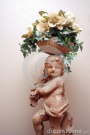 Cherub Statue 3