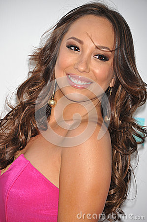 Cheryl Burke Editorial Stock Photo