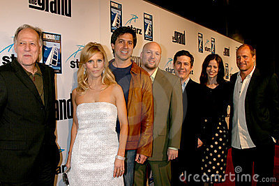 Cheryl Hines, Chris Parnell, Ray Romano, Werner Herzog, Zak Penn Editorial Stock Photo