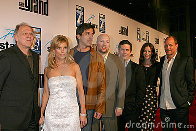 Cheryl Hines, Chris Parnell, Ray Romano, Werner Herzog, Zak Penn Editorial Photo