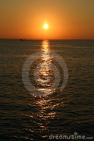 Free Chesapeake Bay Bridge In Virginia Royalty Free Stock Photography - 451437