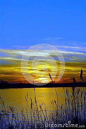 Free Chesapeake Bay Maryland Sunset Stock Photography - 13617142