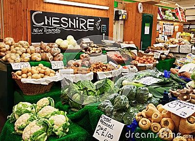 Cheshire farm market