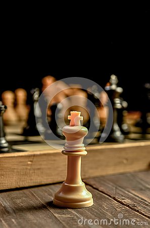 Free Chess Board . Royalty Free Stock Photos - 110384968