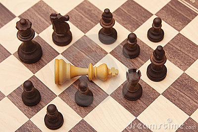 Chess Board Stock Image - Image: 9648371