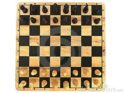 Chess-board with chess