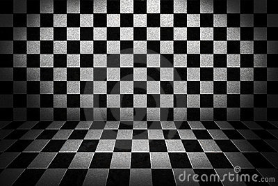 Chess Board Stage Background