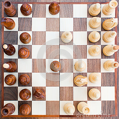 Free Chess Board With All The Figures Royalty Free Stock Image - 36686256