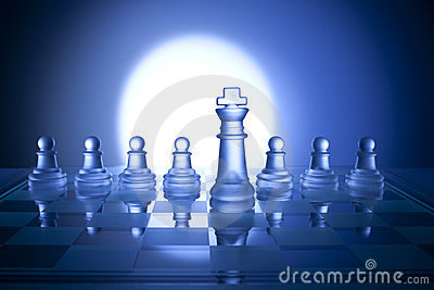 Chess Business Strategy Background