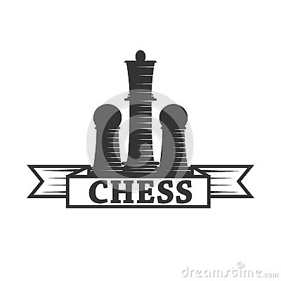 Free Chess Club Vector Icon Template Of Chessman King And Rook Or Pawn Royalty Free Stock Images - 93542099