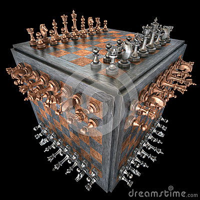 Free Chess Cube Royalty Free Stock Photo - 44329585