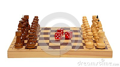 The chess and dice