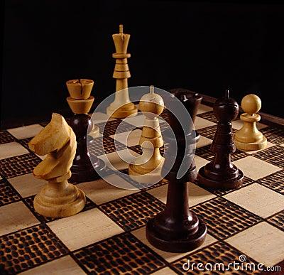 Free Chess Game (2) Royalty Free Stock Photo - 293135