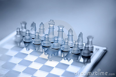 Chess Game Strategy Background