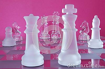 Chess King Queen Battle