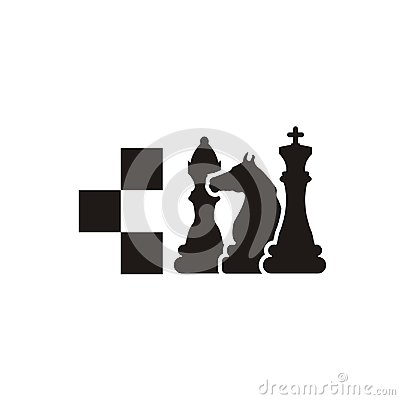 Free Chess Logo Design Royalty Free Stock Images - 121682039