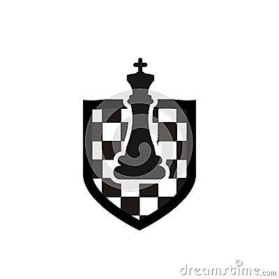Free Chess Logo Design Royalty Free Stock Photos - 121682108