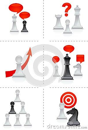 Free Chess Metaphors Royalty Free Stock Photo - 14918535