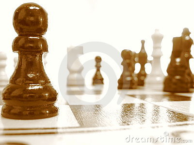 Chess out of focus
