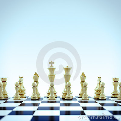 Free Chess Pieces Royalty Free Stock Photography - 17614647