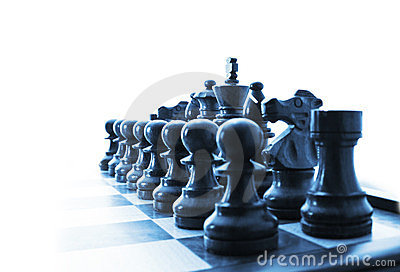 Chess Pieces Business Strategy