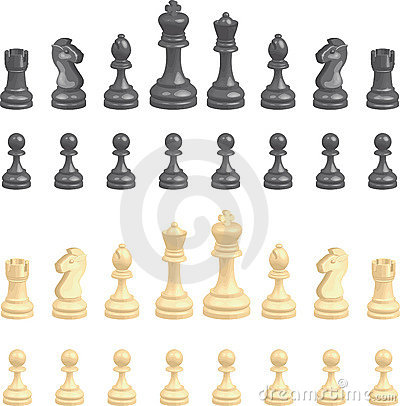 Free Chess Pieces Set Royalty Free Stock Image - 1972266