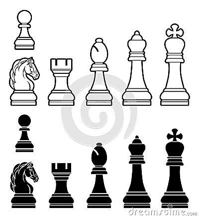 Free Chess Pieces Set Stock Photo - 63440200