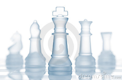 Chess pieces team