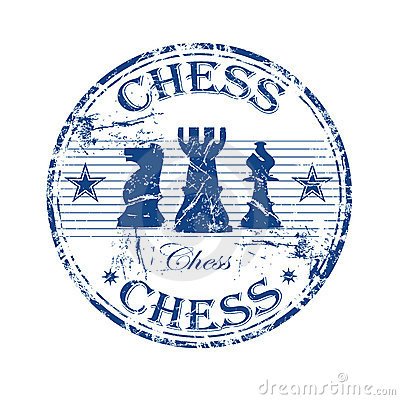 Free Chess Rubber Stamp Stock Image - 8928151