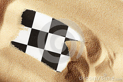 Chess In Sand