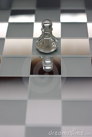 Chess scene Pawn