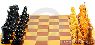 Chess starting position