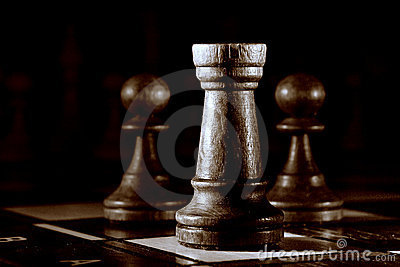 Chess still life