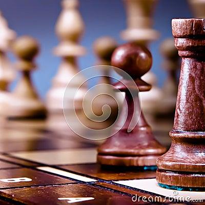 Chess still life