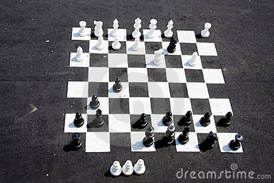 Chess in the street