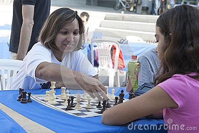 Chess tournament Marathon Editorial Stock Image