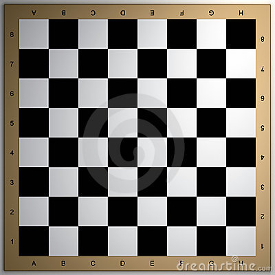Chessboard 3d render