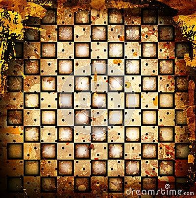 Chessboard backgound