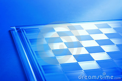 Chessboard Or Checkerboard Background