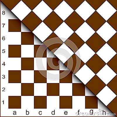 Chessboard half.