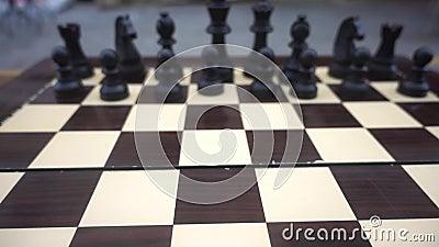 Chessboard i kamienie zdjęcie wideo