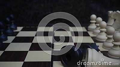 Chessboard i kamienie zbiory wideo
