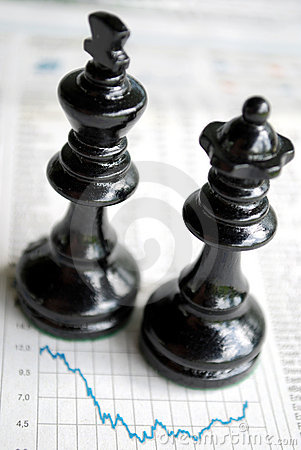 Free Chessmen Charts Stock Image - 9803761