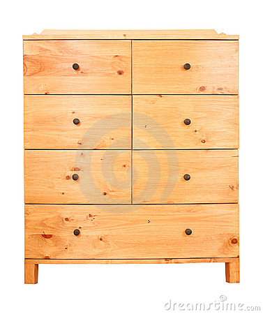 Free Chest Of Drawers Royalty Free Stock Photo - 18645715